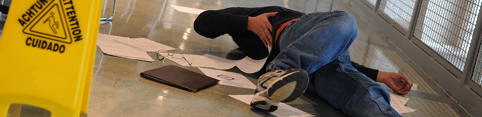 When is a slip and fall claim valid?