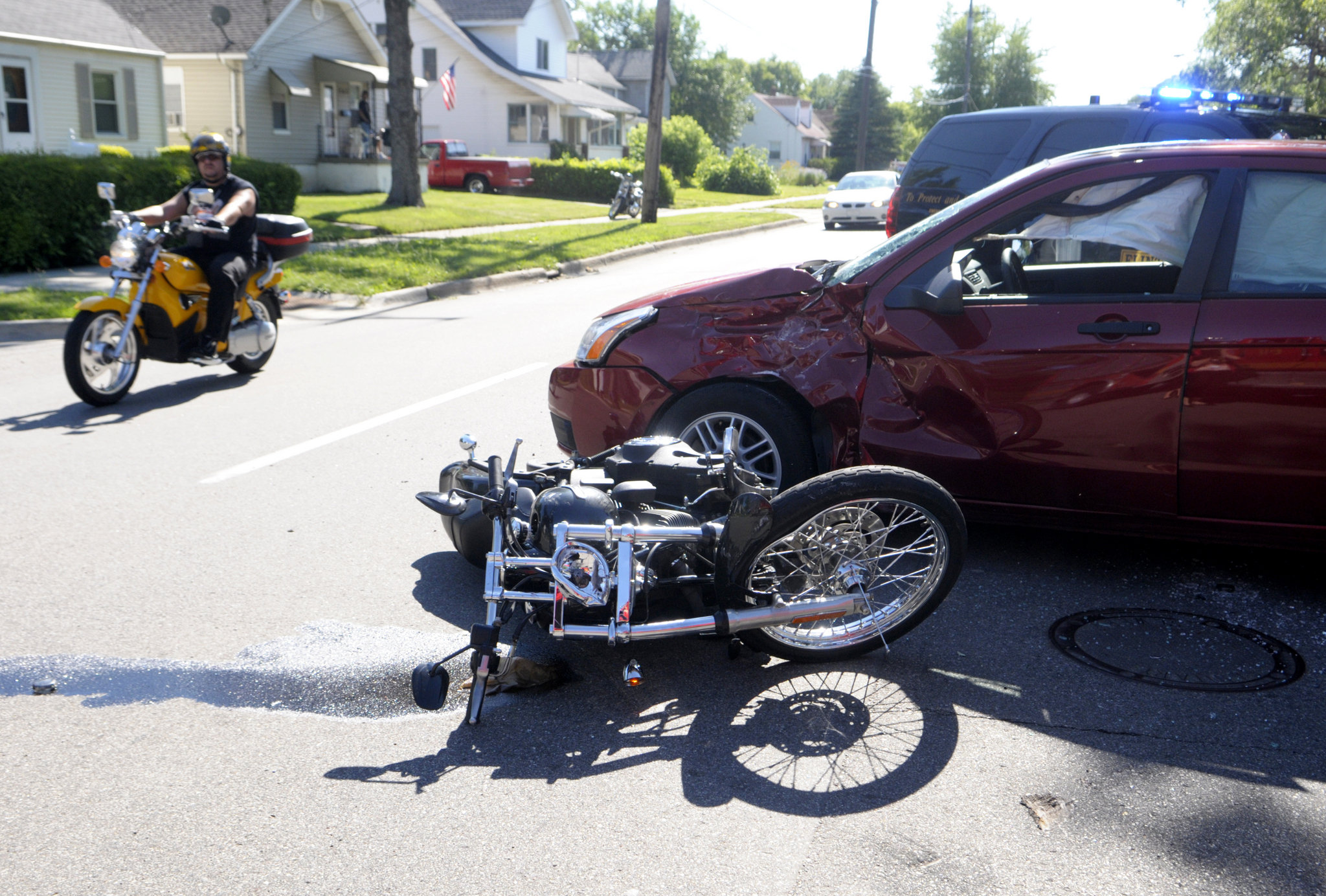 Autonomous Cars Sued For Motorcycle Accidents? Indeed